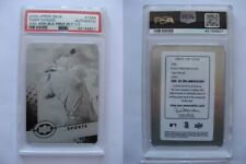 2009 UD 20th Anniversary #1586 Tiger Woods 1/1 black plate  PSA authentic 1 of 1