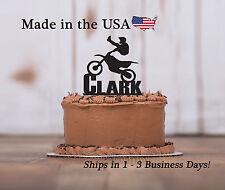 Motor Cross Birthday Pary, BMX, Jump Stunt, Personalized Keepsake - LT1153