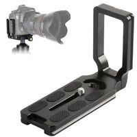 MPU105 Quick Release L Plate Bracket For Nikon D7200 D5300 D810a D500 D750 80D