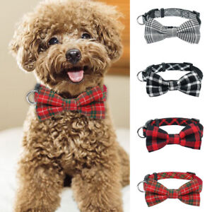 Small Dog Puppy Cat Bow Tie Fashion Pet Necktie Elegant Bowknot Collar Clothes