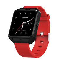 4G Bluetooth Smart Watch Android 6.0 GSM SIM WiFi GPS Camera Heart Rate Monitor