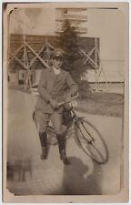Foto Postino anni 30-40 Poste postman mailman postale 40's