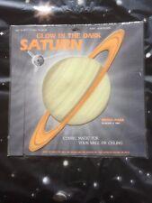 GLOW IN THE DARK  NASA SATURN.....   COSMIC MAGIC FOR YOUR BEDROOM