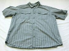 Columbia Omni-Shade Vented Button Up Shirt Fishing Hiking Large
