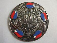 Vintage 10e Regionale Automobielsport Club West Tulpen Rallye Tulip Rally Badge