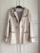 Topshop Vintage Hooded Jacket UK Size ( 12 ) RRP - £69  ( HARDLY USED )
