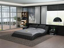 Luxus Leder Bett USB Design Polster Betten Doppel Modernes Ehe140/160/180 LB8824