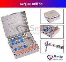 Kit de Taladro Quirúrgico Dental Juego De 16 Piezas De Instrumento Implante Herramienta Trinquete sonrisa Dent