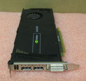 Dell nVidia Quadro 4000 Graphics Card 2GB 256 Bit GDDR5 PCI-E 2.0 X16 6WTYT