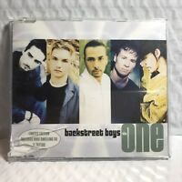 FREE SHIPPING - BACKSTREET BOYS - THE ONE - CD SINGLE - LARGER THAN LIFE MIX
