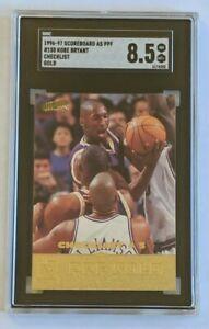 KOBE BRYANT 1996-1997 SCOREBOARD ALL SPORT PPF PLUS #150 CARD GOLD SGC 8.5 LN