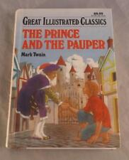 THE PRINCE AND THE PAUPER BY MARK TWAIN 1992  GREAT ILLUSTRATED CLASSICS