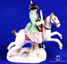 Porzellan Figur Militaria Kaiser Napoleon Reiter Pferd Y106