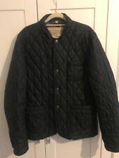 Burberry Brit Men's Black Quilted Jacket Size M