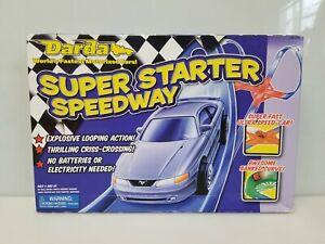 Darda #11128 Super Starter Speedway Race Track Car Set of Track and Car, NEW