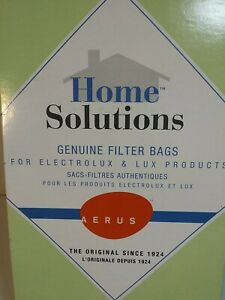 HOME SOLUTIONS Vacuum Genuine Filter Bags Style R ELECTROLUX AERUS