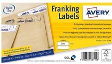 Avery Franking Labels FL09