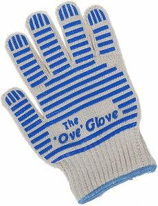 The Ove Glove Hot Surface Handler Superior Oven Heat Resistant Washable 540°F