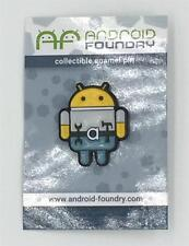 CONSTRUCTION ANDROID COLLECTIBLE ENAMEL LAPEL PIN ANDREW BELL ANDROID FOUNDRY