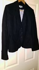 Womens Marks and Spencer Black Blazer. Size 12.