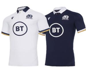 NEW 2020-21 Scotland Home/Away Rugby Jersey Short sleeve T-shirt S-XXXL