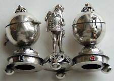 1873 Russian Silver Besamim Spice Judaica Gems Torah Jewish Filigree Aromatic