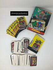 1991 Topps Wacky Packages Box Wax Pack Lot 5 Cards Per Vintage Original