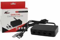 GameCube Controller Adapter 4 Port for Nintendo Switch,Wii U & PC USB w/TURBO🔥™