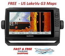 Garmin echoMAP Chirp Plus 93sv US LakeVu G3 Maps w/GT-52 Transducer 010-01901-05