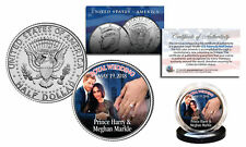 ROYAL WEDDING 5-19-2018 Kennedy Half Dollar Coin PRINCE Harry & MEGHAN Markle