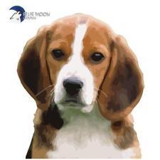Blue MOON GRAPHIX Pegatina Moto Auto Ipad PC móvil cascos Perro Mascota Beagle BMG0038
