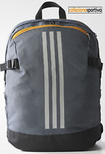 ZAINO ADIDAS POWER 3 STRIPES BACKPACK MEDIUM - BR1539 col. grigio/bianco/nero