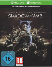 Xbox One Mittelerde Schatten des Krieges Key, Live Shadow of War Download Code