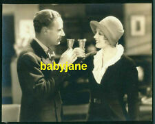 MARION DAVIES LESLIE HOWARD VINTAGE 7x9 PHOTO 1931 FIVE AND TEN TOASTING