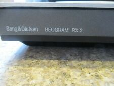 BANG & OLUFSEN B&O BEOGRAM RX2 TURNTABLE WITH ALL FUNCTIONS WORKING