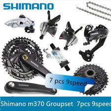 Shimano Altus M370 Mtb Groupset Group Set 3x9 27 Speed 6Pcs Fc-M371 Crankset