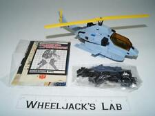 Whirl ~ 100% Complete 1985 Vintage G1 Transformers W STICKER PACKET