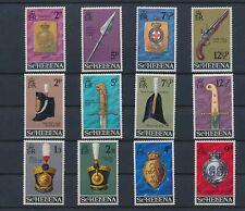 LM80362 St Helena artefacts soldier uniforms fine lot MNH
