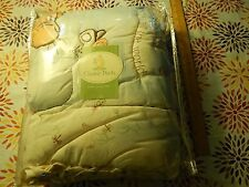 "Disney's Classic Pooh ""A Bear and His Things"" (Crib Comforter) 32'' x 42'' Ltd"