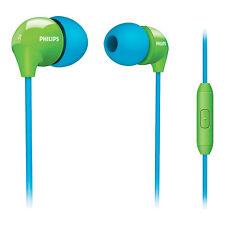 Écouteurs intra-auriculaires Microphone Philips SHE3575BG/10 Vert et Bleu