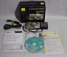 Nikon COOLPIX S6100 16.0MP Digital Camera - Silver***AS IS (DNT V-3)