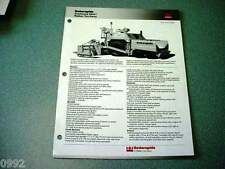 Cedarapids Grayhound CR451 Rubber Tire Paver Brochure