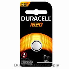 1 x 1620 Duracell Coin Cell Battery - Lithium 3V - (5009LC, EA, ECR1620, L08)