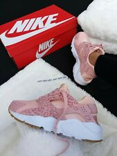 b587dfde179 Nike Pink Athletic Shoes Nike Huarache for Women for sale