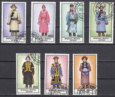 Mongolei 1757 - 1763 gestempelt Nationaltrachten