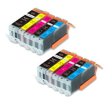10 Pack B PBK C M Y Ink Set for Canon 270 271 Pixma MG6800 MG6820 MG6821 MG6822