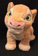 "DISNEY STORE 14"" Plush NALA Young Cub The LION KING Large Stuffed Animal Toy"