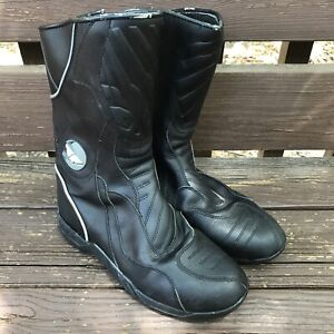 Fly Racing Milepost Motorcycle Boots - Black  Size 9