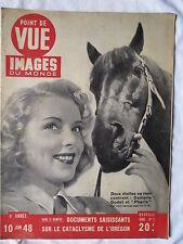POINT DE VUE IMAGES DU MONDE 3 (1948) DANIELLE GODET ET PHARIS RARISSIME