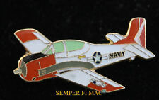 T-28 TROJAN US NAVY MARINES USS HAT PIN TIE TAC PILOT CARRIER TRAINER CAG WOW